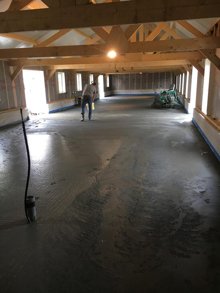 Zorgboerderij Achterveld - Woningvloer beton (1)